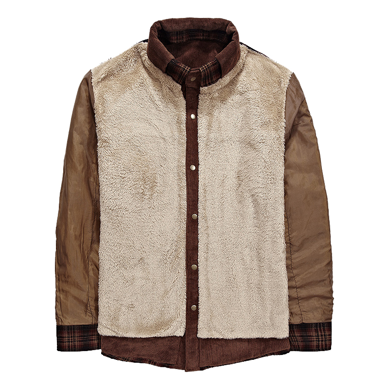 Mountainskin Men's Warm Jacket Fleece Thick Army  Coat Autumn Winter Jacket Men Slim Fit Clothing Mens Brand Clothing SA831 5