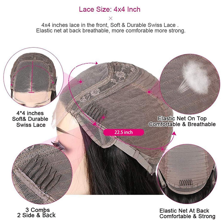 Ombre Lace Front Wig Bone Straight  Wigs  30 Inch Lace Wig   4x4 Bob Closure Wig 4