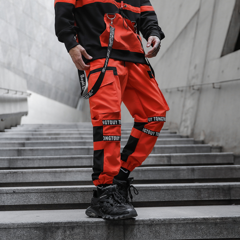 2020 New Arrivals Men Streetwear Pants Hip Hop Pencil Trousers Track Sweatpant Man Harem Pants ABZ672