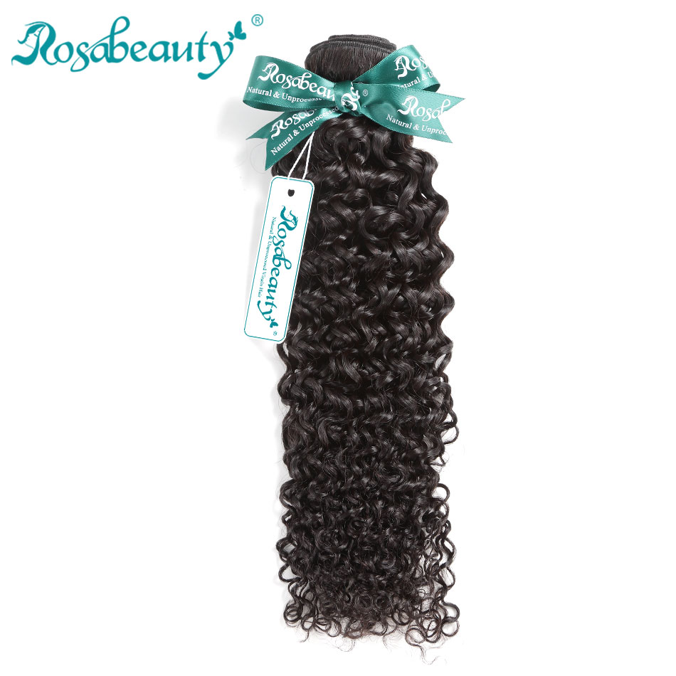 RosaBeauty <font><b>Grade</b></font> <font><b>10A</b></font> Malaysian Afro Kinky Curly <font><b>Hair</b></font> Unprocessed Virgin <font><b>Hair</b></font> Weave 3 bundles Natural Color Human <font><b>Hair</b></font> Extensions image