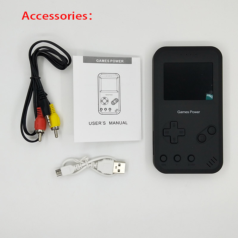 Game Player+8000mAh Battery Power Bank Function Retro TV Out