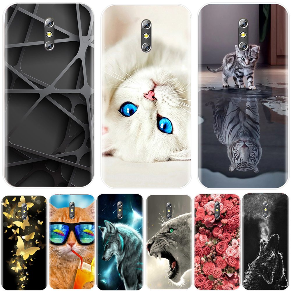 Phone Case For Doogee BL5000 5.5 inch Soft Silicone TPU Cool Pattern Painting Back Cover For Doogee BL 5000 Cases