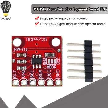 MCP4725 I2C DAC Breakout module development board - discount item  34% OFF Active Components