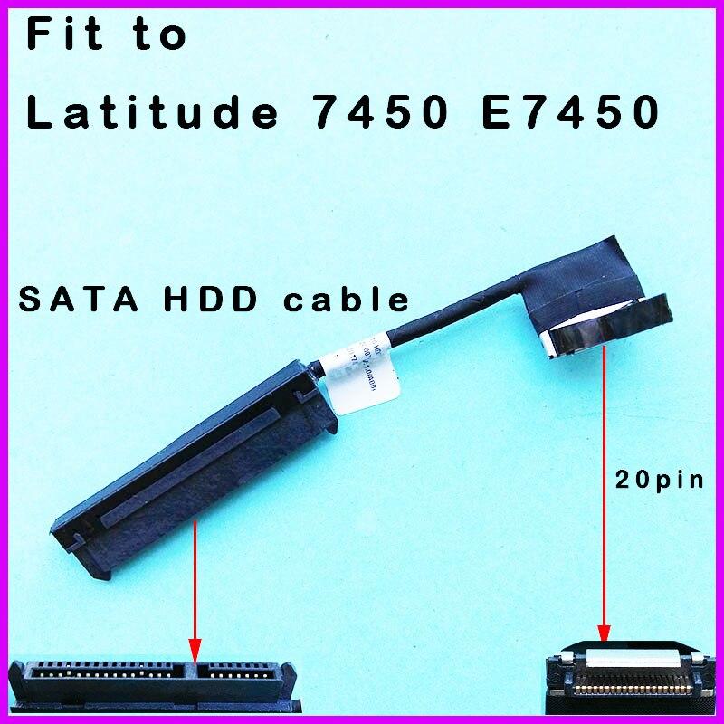 Новый оригинальный кабель для жесткого диска Dell Latitude E7450, соединительный кабель для жесткого диска 0T1FMW T1FMW DC02C007W00 ZBU10, кабель для жесткого дис...
