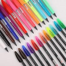 JIANWU Monami – stylo à aquarelle pour dessin, 1 pièce, mignon, croquis, couleurs bonbons, 0.4mm, marqueur de ligne à crochet, Journal, fournitures de papeterie artistique