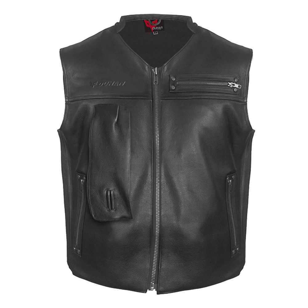 DUHAN-veste en cuir pour motocyclette, système d'airbag professionnel, protection pour Motocross