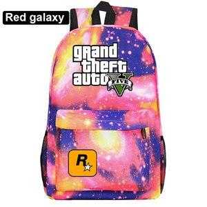 Image 5 - Di modo Caldo di Gioco GTA5 Grand Theft Auto V Della Ragazza del Ragazzo Libro Sacchetto di Scuola Delle Donne Del Sacchetto Pacchetto Adolescenti Zaini Studente Uomini zaino