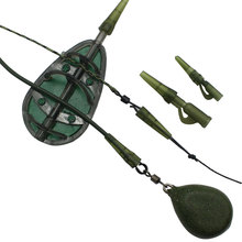 Rubber-Cones Method-Feeder Fishing-Accessories Tackle-Tools Lead Sinkers Rigs Carp Tail