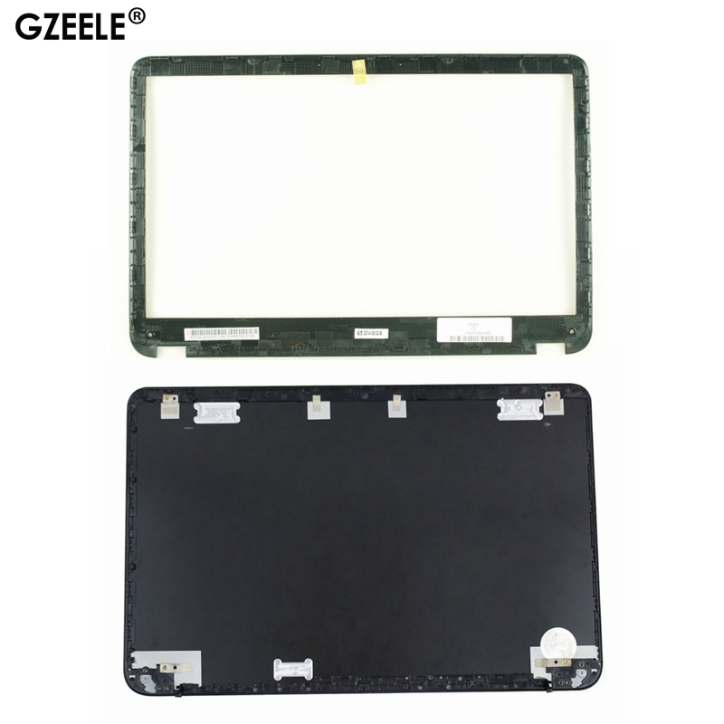 GZEELE New For HP SleekBook Envy6 Envy6-1000 LCD Back Cover Top Shell Lid 686590-001 692382-001 AM0QL000900  Lcd Front Bezel