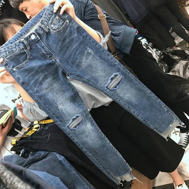 Cheap wholesale 2019 new Spring Summer Autumn Hot selling women's fashion casual  Denim Pants BP69