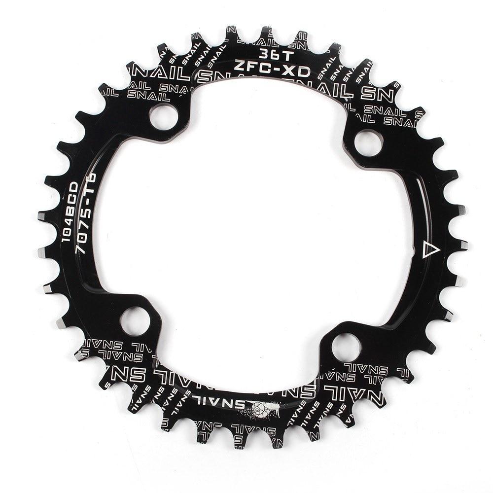 Singal Speed Road MTB Bike Narrow Wide Chain Ring 7075CNC Chainring 22t-44t LUZ