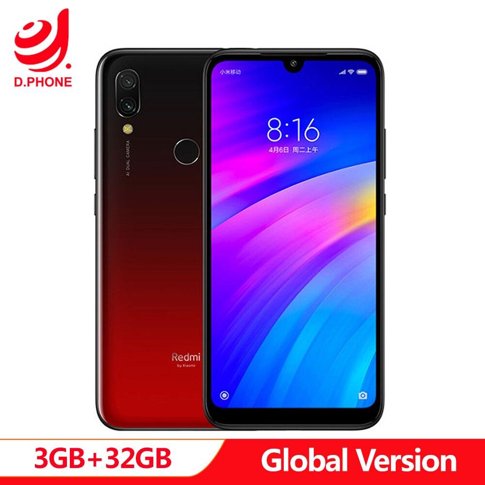 Купить Первоначально Глобальный Версия Xiaomi Redmi 7 3 GB Оперативная память 32 ГБ Встроенная память Snapdragon 632 Octa Core 12MP 6,26