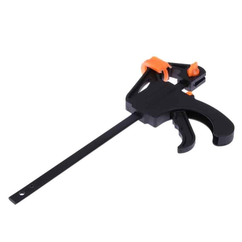 4 Cal Quick Ratchet prędkość zwalniania wycisnąć drewna pracy Bar F zacisk zestaw klipsów rozrzutnik gadżet narzędzie DIY ręcznie do obróbki drewna