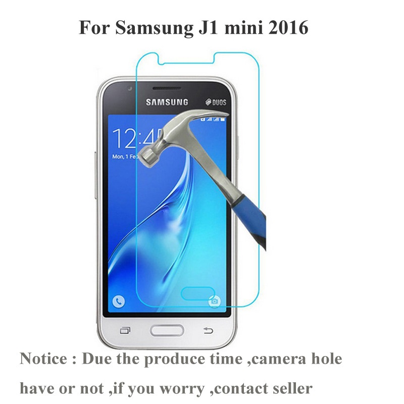 Tempered Glass Screen Protector For <font><b>Samsung</b></font> <font><b>Galaxy</b></font> <font><b>J1</b></font> <font><b>Mini</b></font> J105 J1Mini <font><b>2016</b></font> <font><b>SM</b></font>-<font><b>J105H</b></font> <font><b>J1</b></font> Nxt Duos Protective Film image