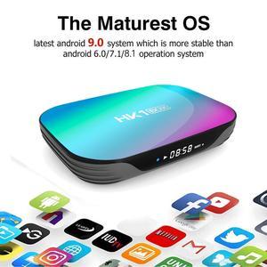 Image 4 - HK1BOX 4 기가 바이트 128 기가 바이트 8K Amlogic S905X3 스마트 TV 박스 안드로이드 9.0 듀얼 와이파이 1080P 4K 유튜브 셋톱 박스 HK1 박스 PK X96AIR X3 A95XF3