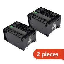 2020 moda 2 pçs cartucho de tinta compatível t8651 t8651xl tinta pigmento para epson workforce pro WF M5191 WF M5190 WF M5690 impressoras