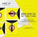 10 шт., новые Масляные салфетки в стиле индийского Бога, для задержки эякуляции, для мужчин