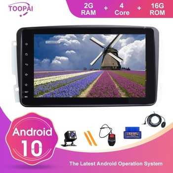 TOOPAI Android 10 For Mercedes Benz CLK W209 Vito W639 Viano Canbus Auto Radio Stereo Head Unit GPS Navi Car Multimedia Player image