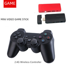 New Wireless Video Game Console HD Home Game Stick Double 2.4G Wireless Controller Mini Game Box Built in 3000 Game For PS1