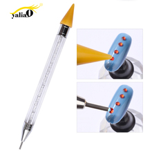 Get more info on the YALIAO Dual-ended Dotting Pen Nail Rhinestone Picker Wax UV Gel Painting Nail Decoration Manicure Tools Kit