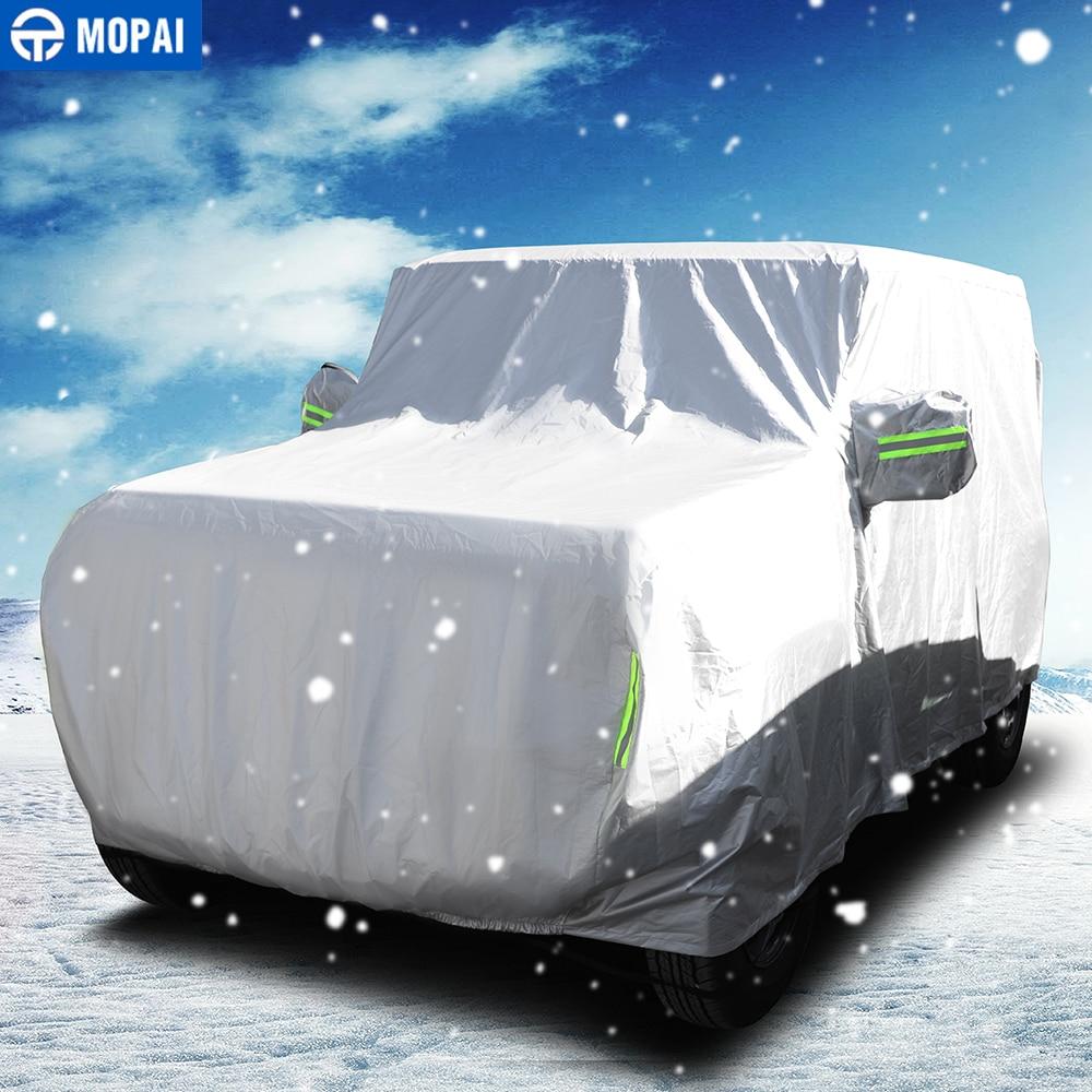 MOPAI Car Cover for Jimny JB74 Car Body Dustproof Waterproof Cover Sun UV Protect Shield Accessories for Suzuki Jimny 2019+