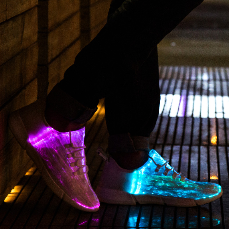 iluminar sapatos 11 adolescente girls boys 02