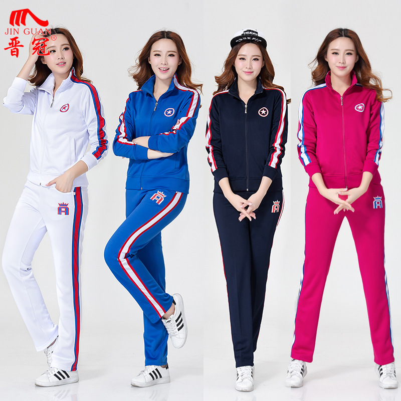 2016 Jin Crown Autumn New Products Groups Sports Clothing Men And Women Middle-aged Square Dance Jiamusi Fitness Exercise Sports