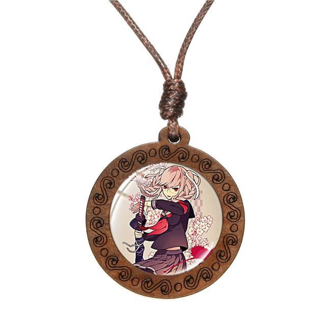 Aqua Bandana NecklacePendantWood Embroidery HoopBo-Ho NecklaceCute NecklaceOOTDBohemianStatement NecklaceBandana JewelryHandmade