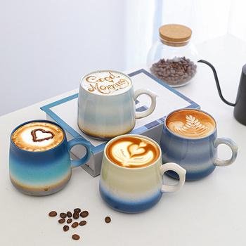Kreatywny ceramiczny kubek do kawy kubki podróżne i kubki mleko filiżanki porcelana chiński Kung Fu kubek do herbaty o dużej pojemności Drinkware Caneca tanie i dobre opinie CN (pochodzenie) Porcelany kubki do kawy Tradycyjny chiński Bez elementów Uchwyt CE UE Lfgb Mugs ceramic coffee mug Na stanie