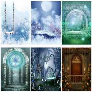 Image 1 - Yeele Fairy Portret Droom Wonderland Magic Castle Fotografie Achtergronden Gepersonaliseerde Fotografische Achtergronden Voor Fotostudio