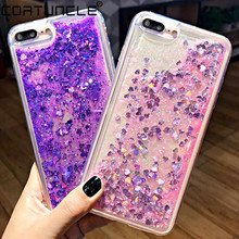Glitter Liquid Case For Xiaomi Redmi 7 6