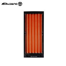 Copper Radiator Case Heat-Sink Watercooler Dual-120mm 240MM Thick for A4 Small Build