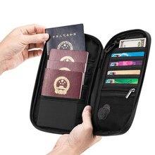 Porte-passeport de marque de luxe pour hommes, étui de voyage pour passeport, porte-monnaie de crédit