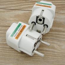 EU Plug EU Power Universal RU ES US Conversion Europe Power Plug Converter Socket Travel Socket Outlet Adapter 250V 10A