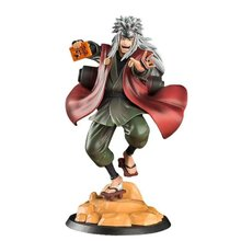 19cm shippuden anime figrue jiraiya gama sennin estátua figuras de ação pvc modelo coleção brinquedo para anime amante estatueta figma