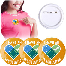 10PCS Inoculation  Pin Badge Identification Badge For People Healthy And Healthy Life Fast Shipping And In Stock DropShipping