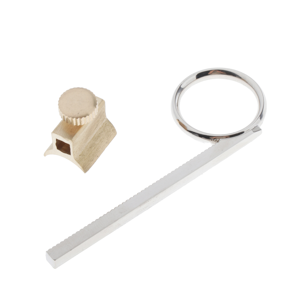 Metal Trumpet Valve Slide Finger Ring Replacement Parts For Trumpets Cornets