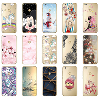 Voor Huawei Honor 8 lite Case Cover voor Huawei P9 Lite 2017 Case Soft Silicon TPU Fundas voor Huawei P8 lite 2017 Case Cover