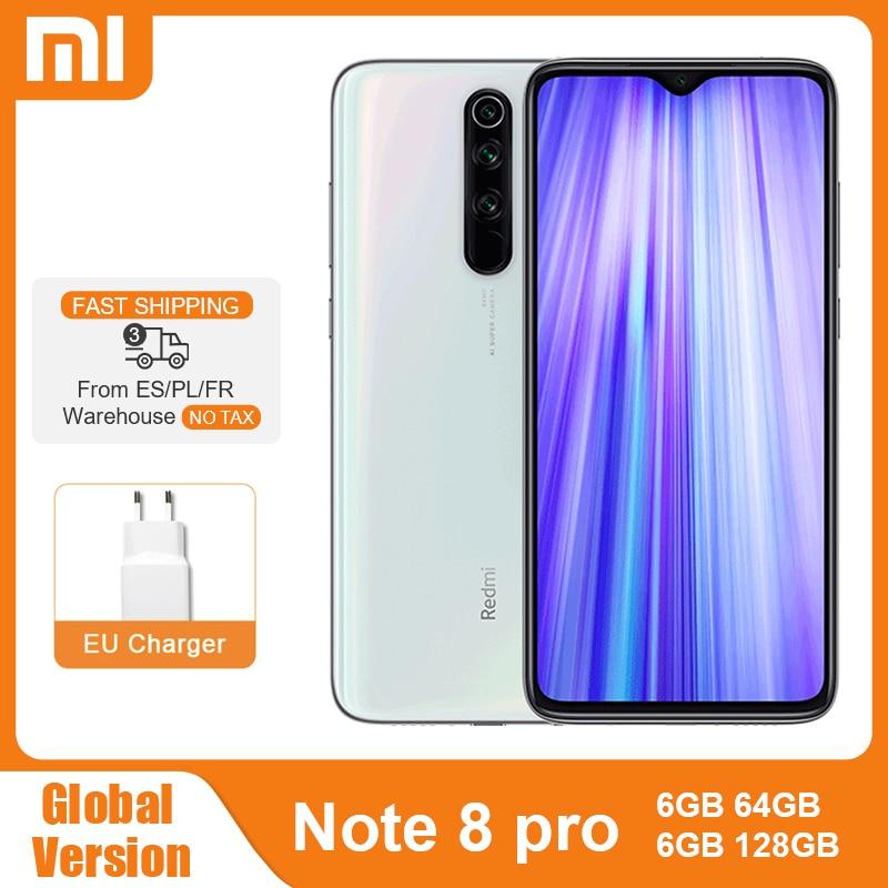 Global Version Xiaomi Redmi Note 8 Pro 6GB 64GB/128GB Smartphone 64MP Camera Heilo G90T Octa Core Mobile Phone NFC 4500mAh Note8|Cellphones| - AliExpress