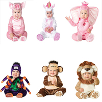 Halloween cartoon animal cosplay costume winter baby boy girl clothing Christmas gift infant toddler babies party clothes set