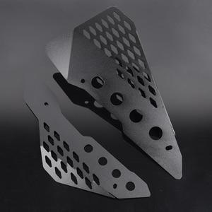 Image 5 - Protetor de painel de borracha lateral de alumínio, proteção de bordo para ducati scrambler sixty/deserto/acelerador completo/enduro urbano