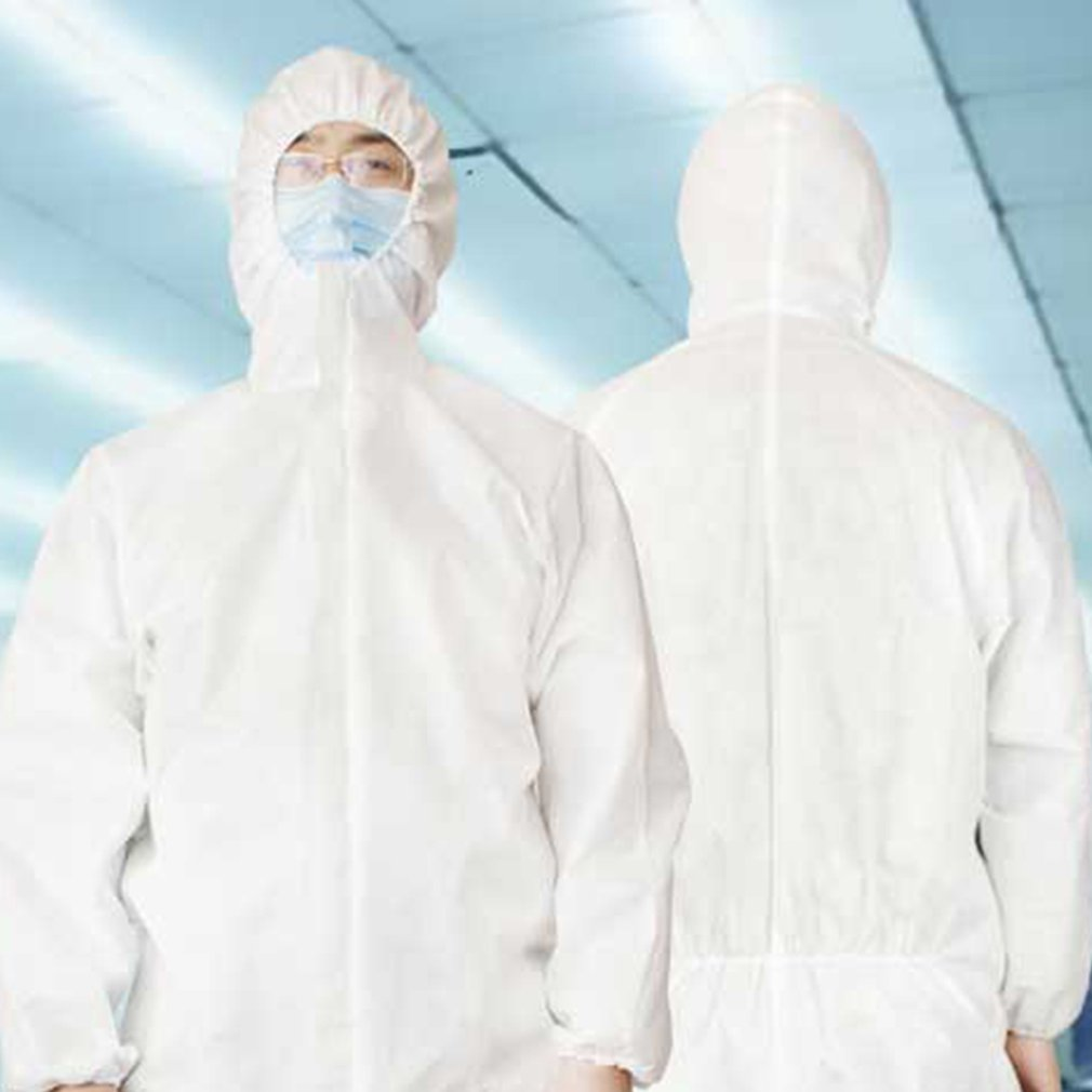 Disposable Protective Suit Protect Safety Clothing Anti Bacteria  Droplet  Suit Practical Portable