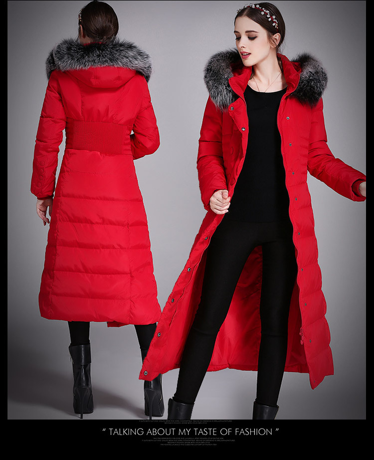 Women's Lower Garment Long Winter Duck Lower Garment Women's Pump