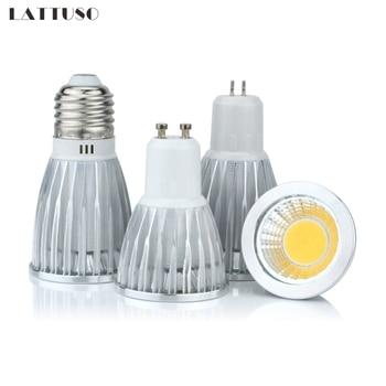 цена на COB led spotlight 3W 5W 7W 10W led lights E27 E14 GU10 GU5.3 220V MR16 Cob led bulb Warm White Cold White lampada led lamp