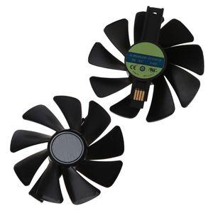 2 pièces CF1015H12S 12V refroidisseur ventilateur remplacement pour saphir NITRO RX 580 570 480 470 4G RX Vega64 8GB carte graphique ventilateur de refroidissement C26