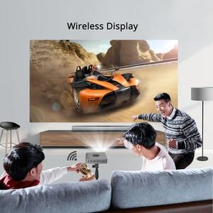 Image 5 - BYINTEK U20 Full HD 1080P 3D 4K Android Smart Wifi Portable Mini LED DLP Projector Beamer for Smartphone
