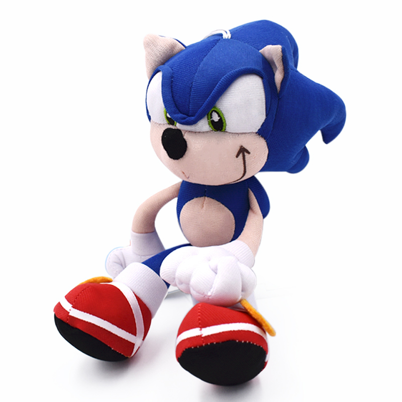 20cm Sonic Plush Toys Doll Sonic Cartoon Peluche Soft Stuffe…