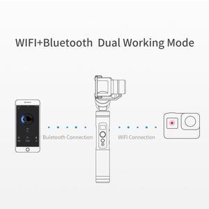 Image 4 - Feiyutech G6 Splashproof Handvat Gimbal Wifi + Bluetooth Actie Camera Stabilizer Voor Gopro Hero 8 7 6 5 Sony RX0 yi 4 K