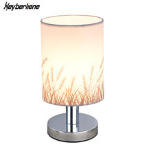 Table Lamp Desk Abajur Para quarto Bedroom Reading Study Lighting Home Lighting Fixtures Led Light Cloth Lampshade Luminaria(China)