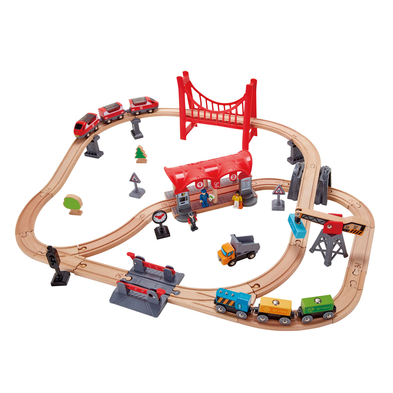 Hape Train Orbit More Function Set Children Alpinia Oxyphylla Toys
